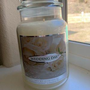 Yankee Wedding Day Candle